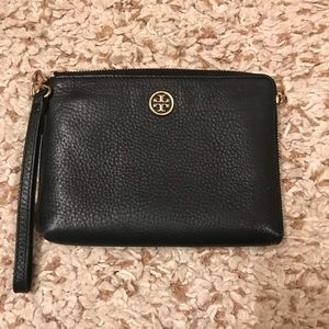 Tory Burch wristlet navy